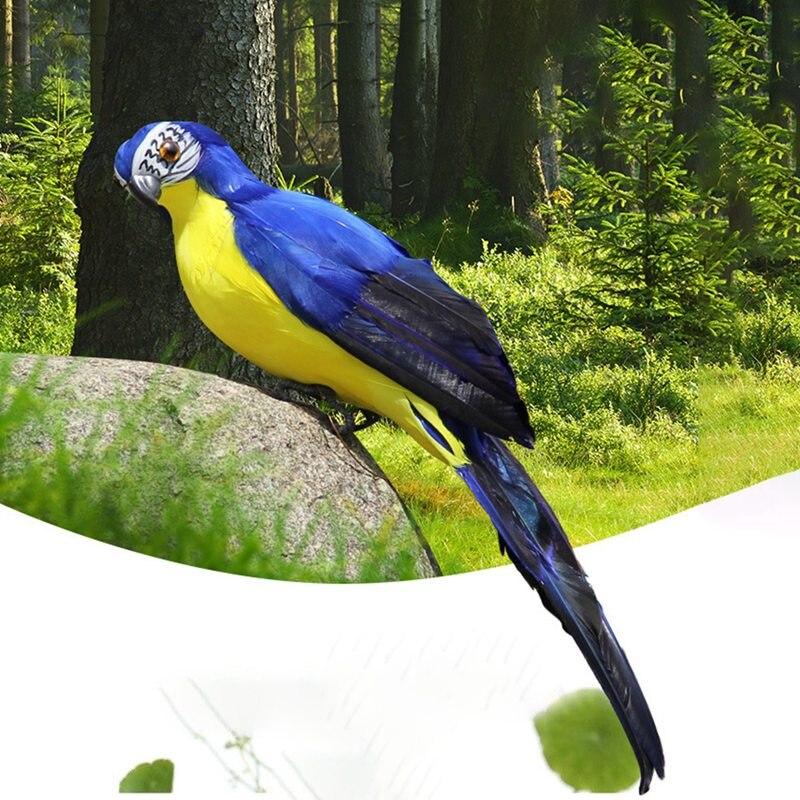 Simulation Parrot For Show Window Gardening Decorative Bird Garden Decor Garden Supplies