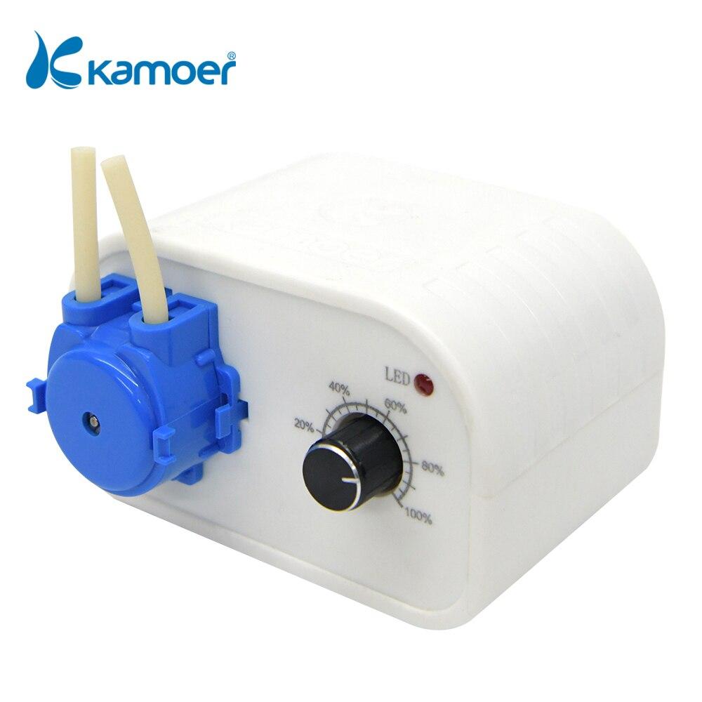 كامو NKCP 24 فولت مضخة مياه تمعجية الاستغناء ماكينة حشو مع معدل تدفق قابل للتعديل انخفاض مستوى الضجيج لسائل المختبر