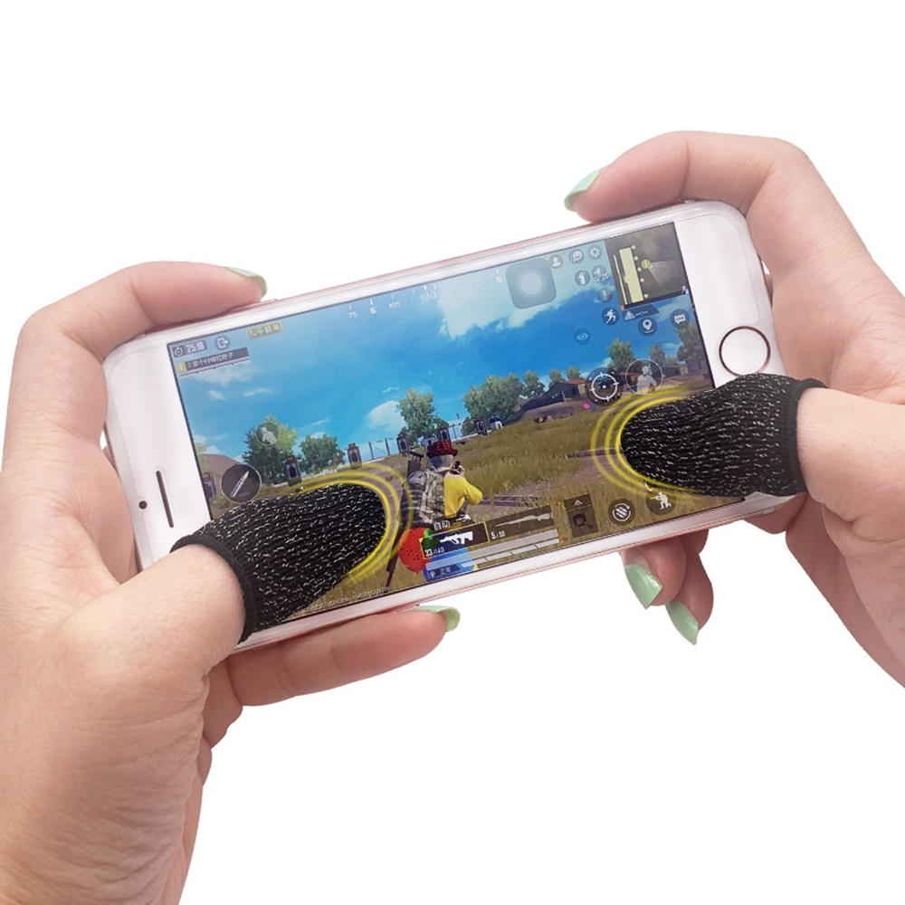 joystick Game Controller Sweatproof Gloves for Phone Gaming mobile and other professional touch screen thumbs general mobile games joystick touch screen rocker controller
