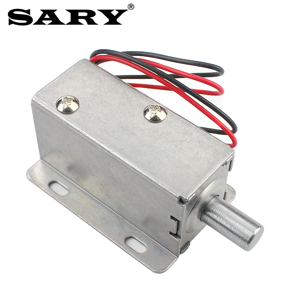 DC 12v2A Small Electric Lock Cabinet Bolt Electronic Door Gate Release Assembly Control