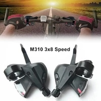 1 pair bicycle brake shift lever sl m310 rapid fire shifter 3x8 speed mountain bike accessories mtb bicycle shifter levers brake
