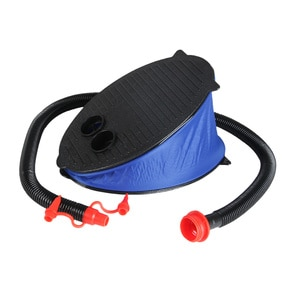 Foot Pump Inflatable Air Exhaust Dual Purpose Foot Pump Foot Air Pump for for Air Mattress Kayak Inflatable Toys