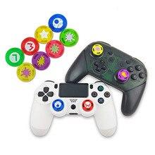 Pour interrupteur PRO poignée bouchon de protection à bascule couleur de pulvérisation enfant anti-dérapant capuchon en caoutchouc pour PS4/PS3/ONE