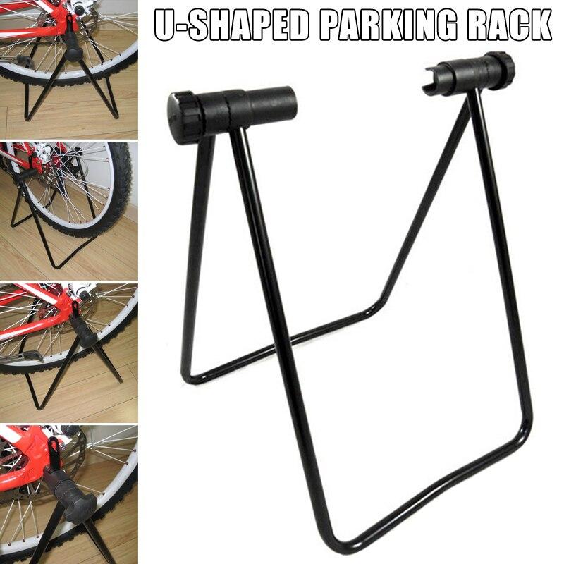 Estación de bicicleta plegable, soporte para rueda de bicicleta, soporte portátil para ejercicio de interior ASD88