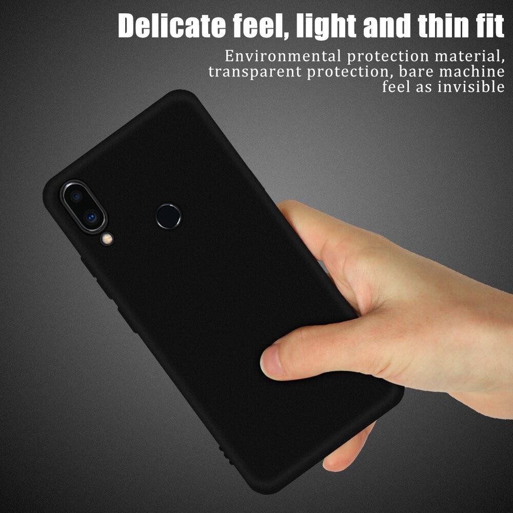 Black Soft TPU Phone Case For Meizu 16T 16S Pro 16XS 16S 16 Plus 16X 16th Note 8 9 X8 M5S M5 M6 Note