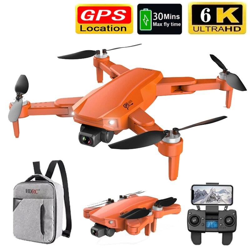 2021 nova s608pro gps zangão 6k dupla hd câmera aérea profissional wifi fpv zangão sem escova dobrável quatro eixos rc distância 3000m