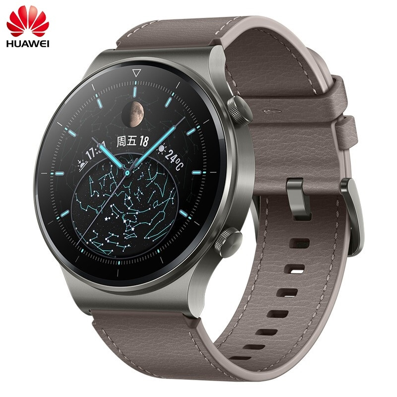 In stock Global Version HUAWEI Watch GT2 Pro Outdoor Sports SmartWatch 15 Days Battery Life NFC Male and Female Adult Watch