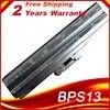 Batterie 11.1V 5200mAh pour ordinateur portable Sony VGP-BPS13/S BPS13AS BPS13B/S BPS13A/S VGP-BPS13 BPS13 VGN-CS28 argent