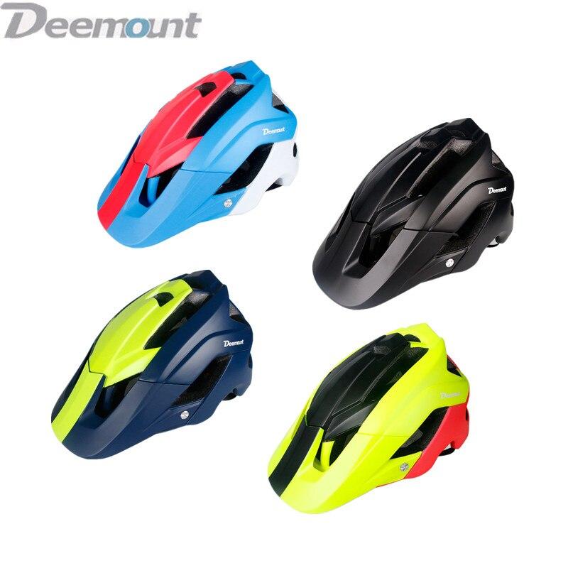 Deemount-Casco Para Bicicleta de Montaña, Casco de Bicicleta de carretera, con forro Unisex, perímetro ajustable, 56-62cm, equipo de equitación para adultos