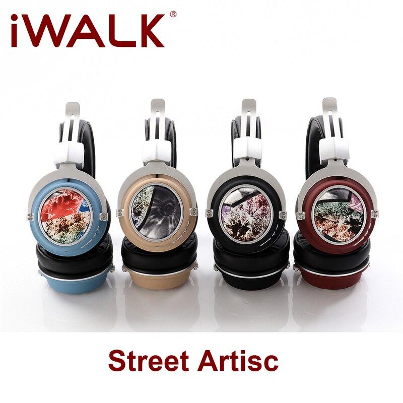 Fones de Ouvido Binaural sem Fio Iwalk Artisc Bluetooth 5.0 Adolescente Personalidade Alta Fidelidade Fone 2021 Nova Chamada Tws Rua