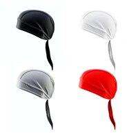 summer pirate hat mesh helmet bottom long tail head wrap cycling cap beanie skull cap chefs hat