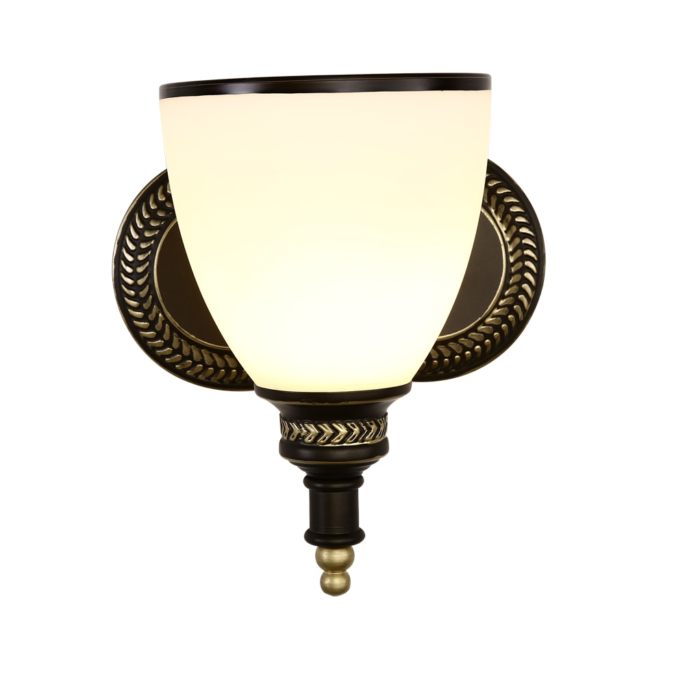 Wall Lamp E27 wrought iron interior modern home staircase bedroom bedroom bedside bathroom lamp