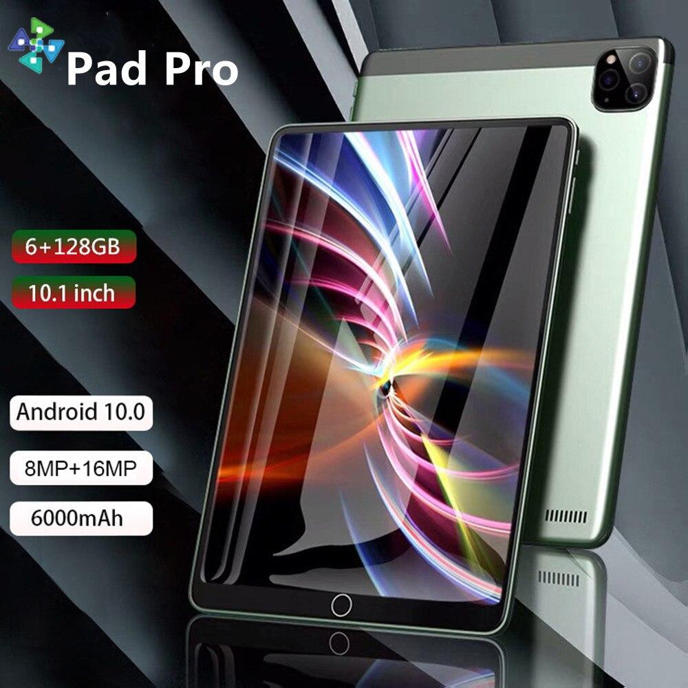 Планшет планшет Pro android 10,1 дюймов android планшетный ПК 4/телефон планшетный ПК 10 ядер планшет android 6 ГБ + 128 Гб ЖК-планшет