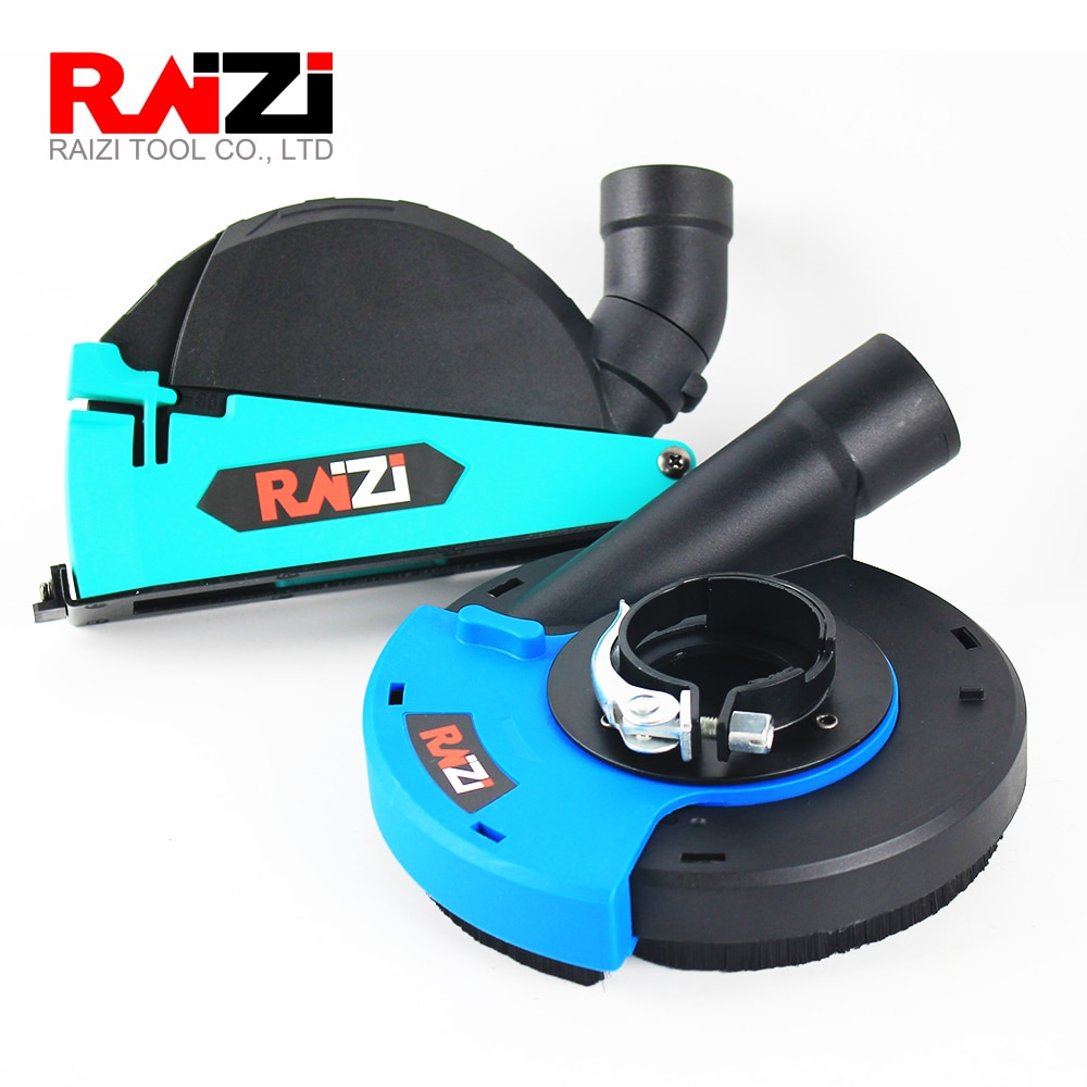 Raizi 5 inch/125 mm Universal Dust Shroud Kit Dry Cutting Grinding Cover Tool For Angle Grinder enlarge