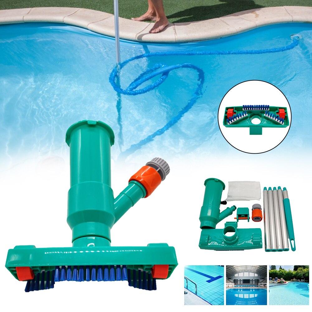 Pool Reiniger Schwimmbad Vakuum Pinsel Reinigung Pinsel Kopf 5 Pole Außen Tragbare Reinigung Hoover Saug Werkzeug Dropship