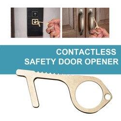 Ferramenta sem contato do botão do elevador a maneira segura e fácil de avoide germes-sem contato nenhum-toque proteger a chave de bronze do isolamento da segurança