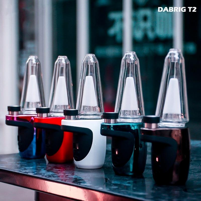 Electric DabRig T2 Starter Kit,1500mah Battery Waterproof Heating Base Enail for Wax Concentrate Shatter Budder Smoking Set enlarge