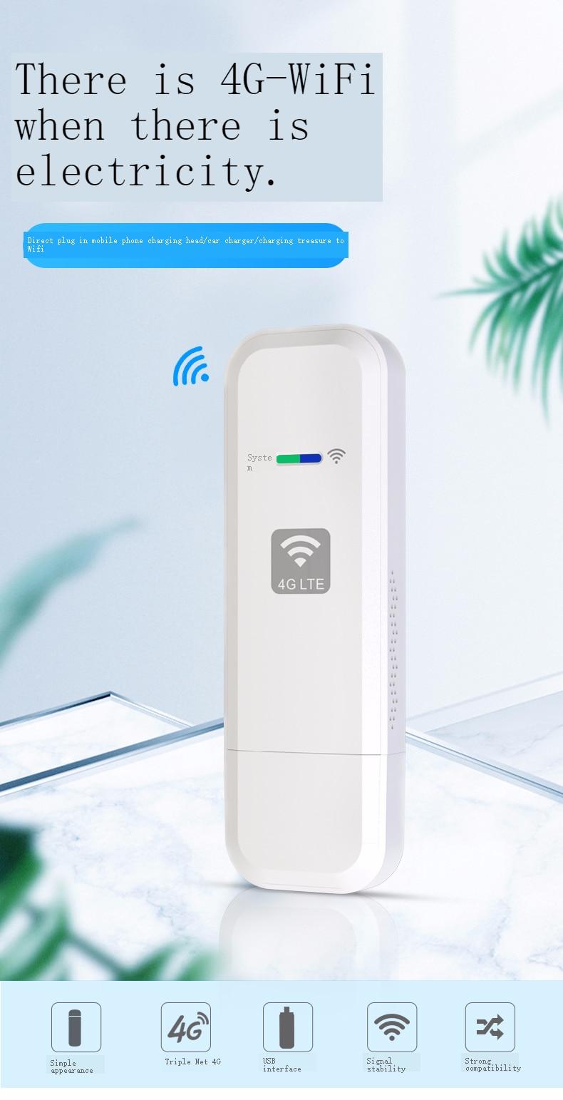 Новая портативная Мобильная Wi-Fi карта 4G, автомобильная портативная беспроводная сетевая карта, беспроводной маршрутизатор, карта маршрути...