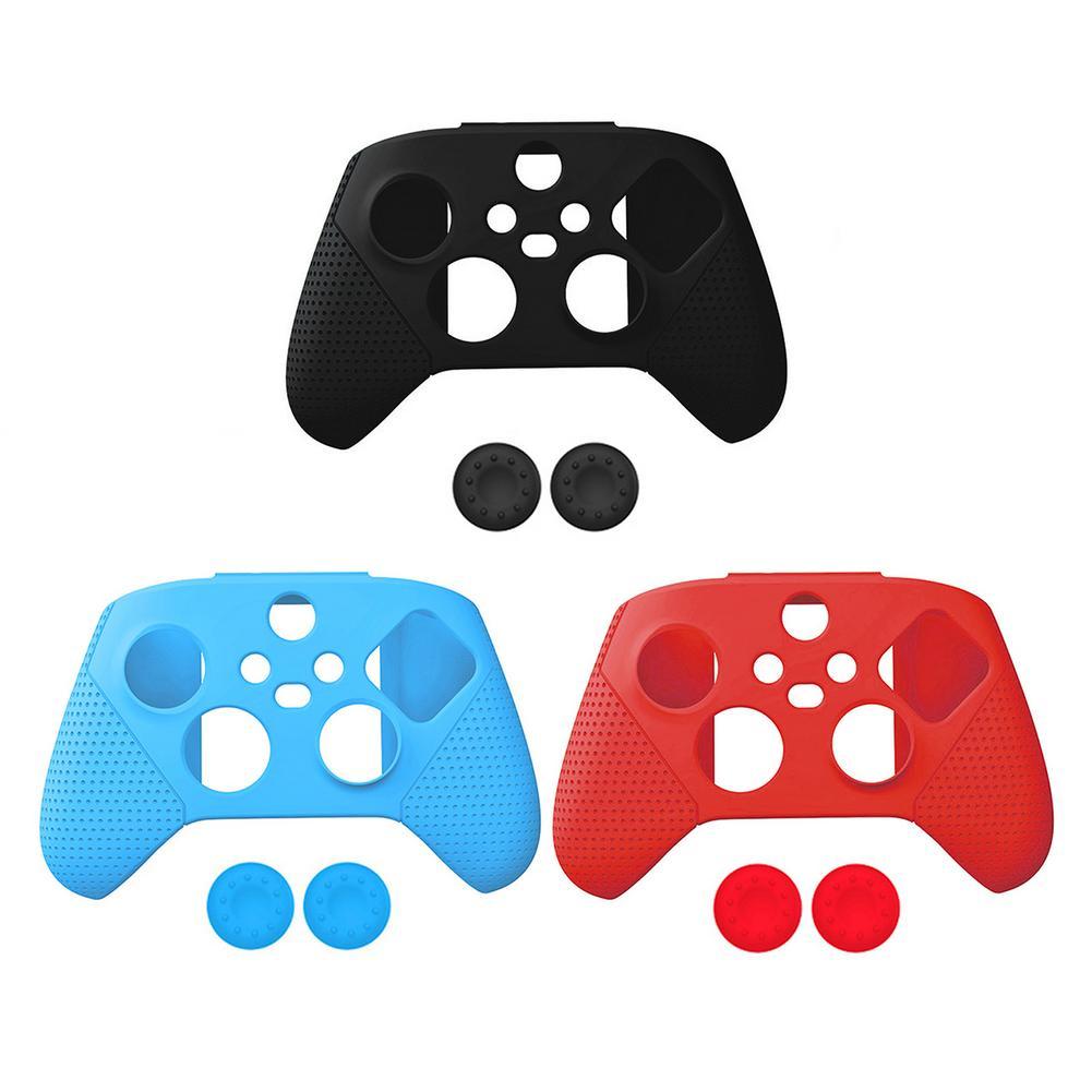 ¡Gran oferta! Funda protectora de silicona antideslizante para mando de Xbox, funda...