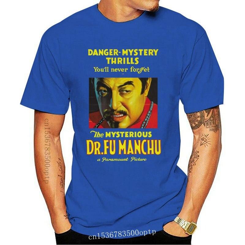 New Dr' Fu Manchu Movie Warner Oland Boris Karloff Supervillian T Shirt