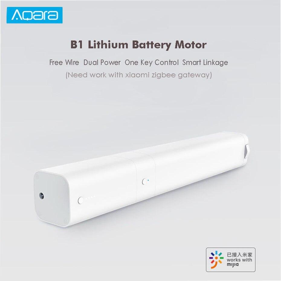 Aqara B1 Smart Curtain Motor Remote Control Wireless Smart Motorized Electric Curtain Motor Timing APP Mihome smart home