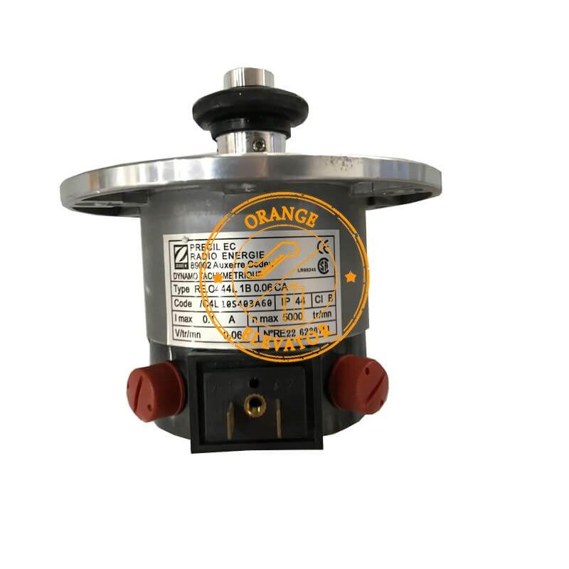 RE.O444 L1B 0,06 CA Aufzug Tachogenerator KM276027 mit Zwei Rollen KM650808G01 37,5mm