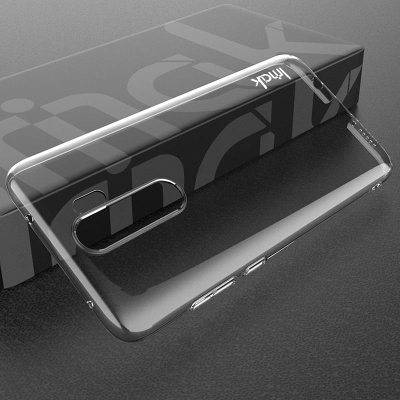 For Xiaomi Redmi Note 8 Pro Case IMAK Transparent Wear-resisting PC Hard Case For Xiaomi Redmi Note 8 pro Crystal Cover 6.53''