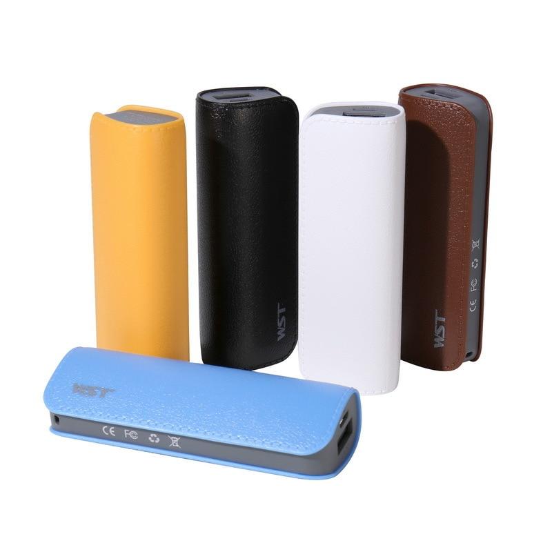 Batería Externa de 2600MAh para iPhone Samsung Huawei Xiaomi Powerbank Super Mini Power bankMobile