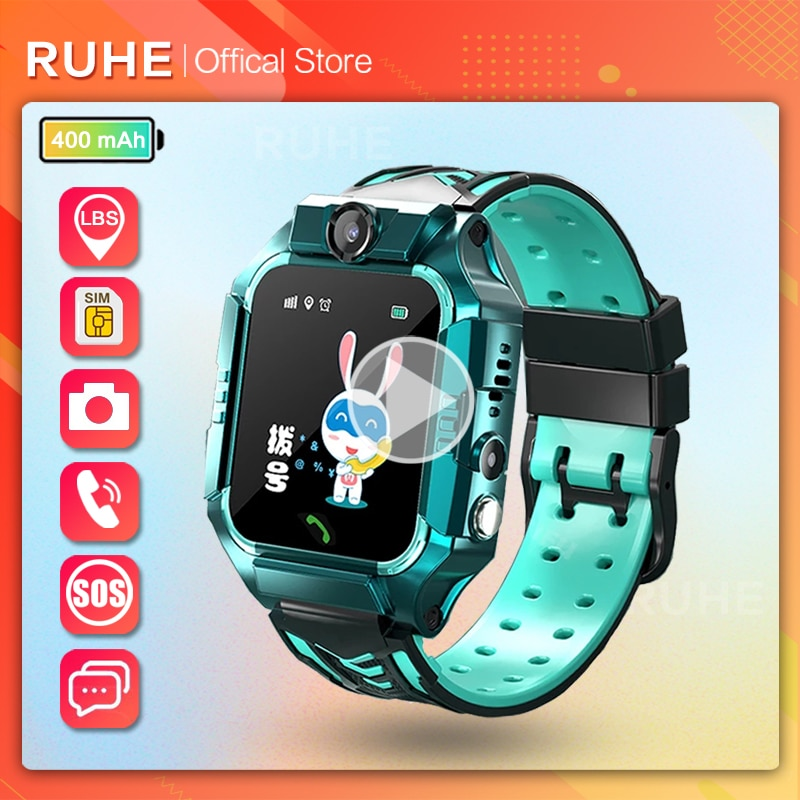 smart watch kids gps Q19 Children SOS Call Phone Watch Smartwatch use Sim Card Photo Waterproof IP67 Kids Gift For IOS Android