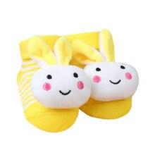 TELOTUNY socks Cartoon Unisex Newborn Baby Socks Anti Slip Sole Sock For Girls/Boys Cotton Toddler Boat Winter Full Sock