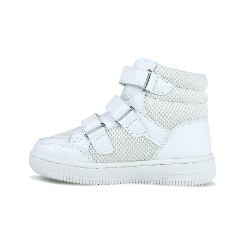 Boys Girls Sneaker Leisure Sports Trainers White Mesh Lining School Orthopedic Shoes  for Toddler Kids Four Seasons Size 21-38 enlarge
