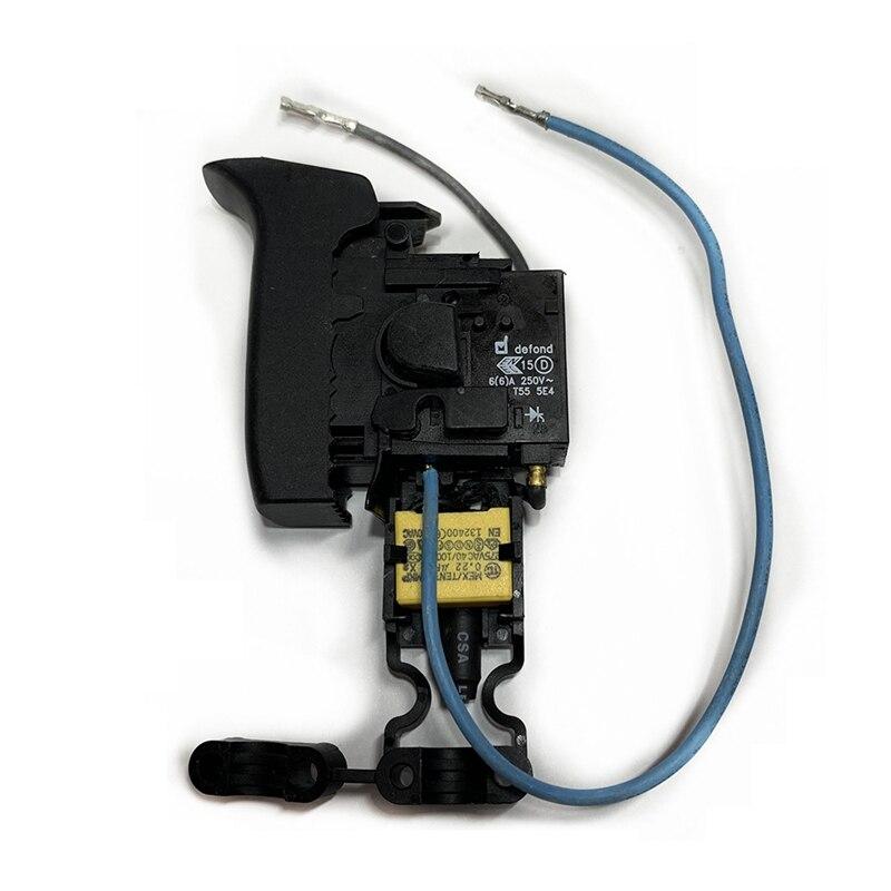 Interruptor controlador de velocidad de reemplazo para Hilti TE1 TE2 TE7 TE-1...