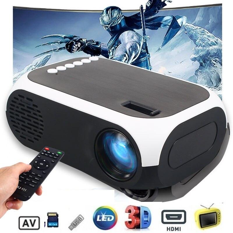 Mini 4K HD 1080P Projector Home Theater BLJ-111 LCD Projector 2500lums AV/USB/compatible HD Interfac