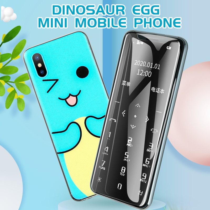 New I10 Ultra-thin Smallest Cute Card Cellphone Portable Student Quit Internet No Network Addiction Backup Mini Mobile Phones