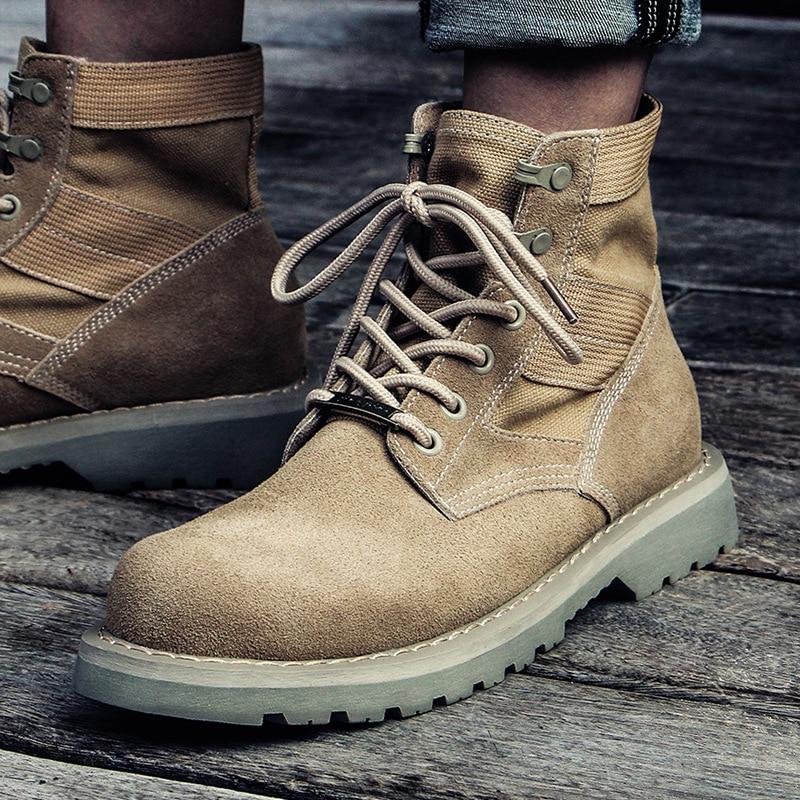 زوجين مارتن الأحذية الرجعية جلد طبيعي منتصف العجل الأحذية جولة تو الشتاء الدافئة الفراء بطانة الكاحل أحذية الشتاء دراجة نارية الأحذية