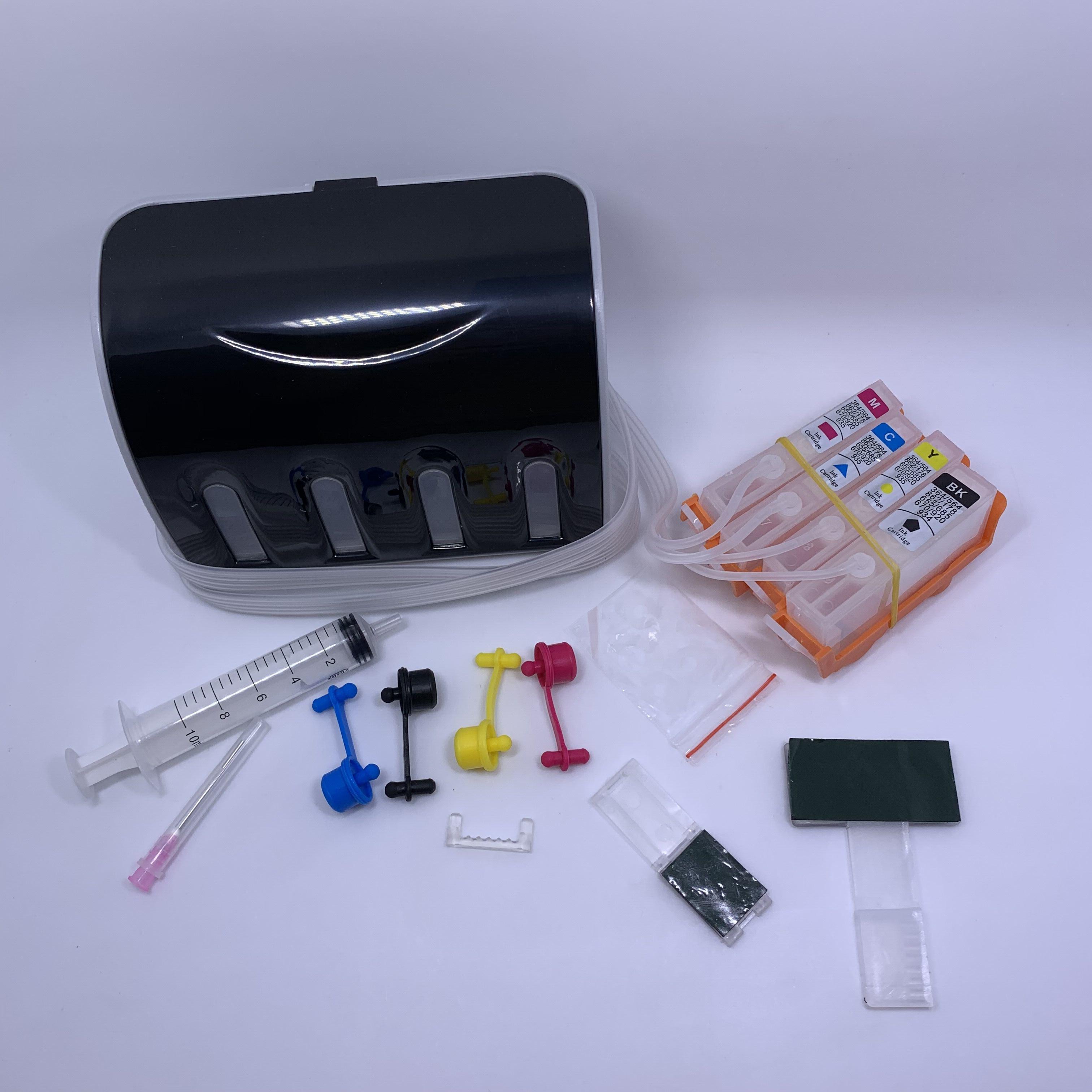 Cartucho de tinta CISS YOTAT 1set para HP364 HP 364 para impresora HP Deskjet 3070A B209A B210A 5510 5515 6510 B109A