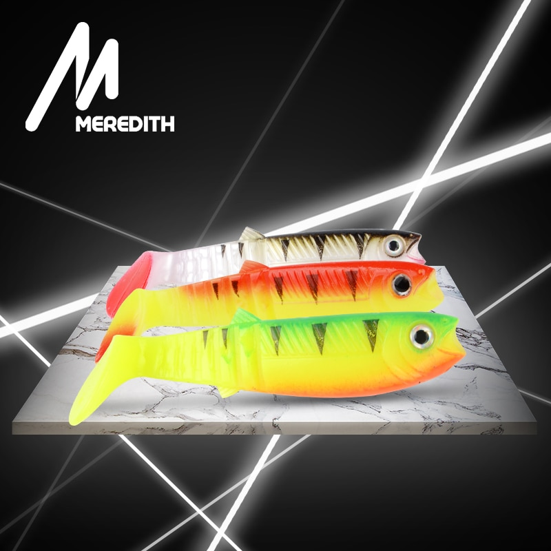 Meredith isca de cannibal 80mm 100mm 125mm crankbait isca isca de truta artificial isca wobbler iscas de pesca de silicone