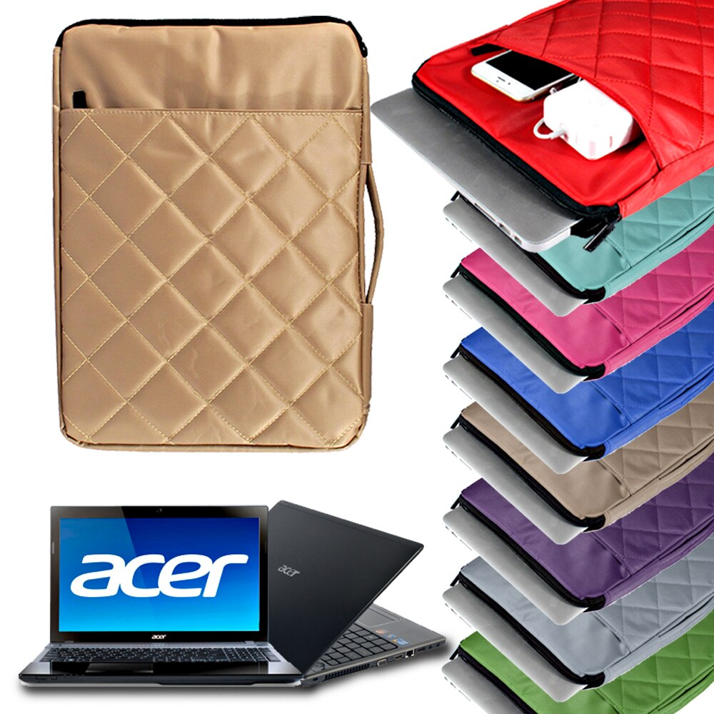 Waterproof Laptop Bag 13.3/14 Inch Case Suitable for Acer Spin 1/3/5/7/Swift 1/3/5/7 Computer Checkered Sleeve Cover Accessories