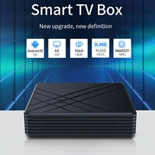 For Android 9.0 TV Box 4GB RAM 32GB ROM Smart TV Set Top Box Amlogic S905 Mx+s QPro 4K Home Audio Vi