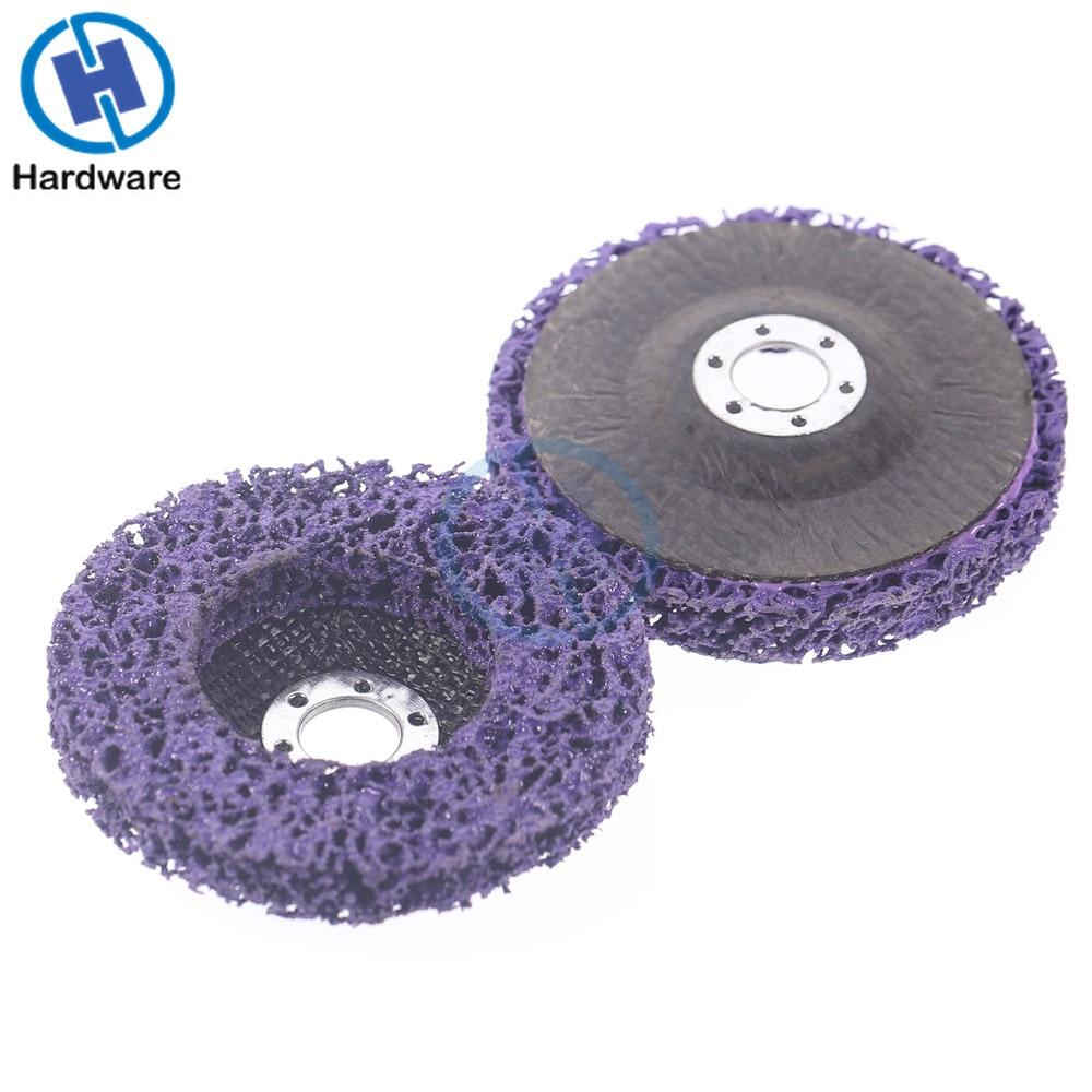 2 uds 125mm disco de tira de polietileno rueda abrasiva pintura - Herramientas abrasivas - foto 4