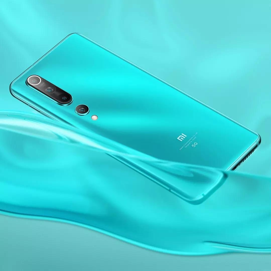 Global Version Xiaomi Mi 10 5G Smartphone 8GB+256GB Snapdragon 865 Octa Core 100 Million Pixels NFC 90HZ AMOLED Curved Screen enlarge