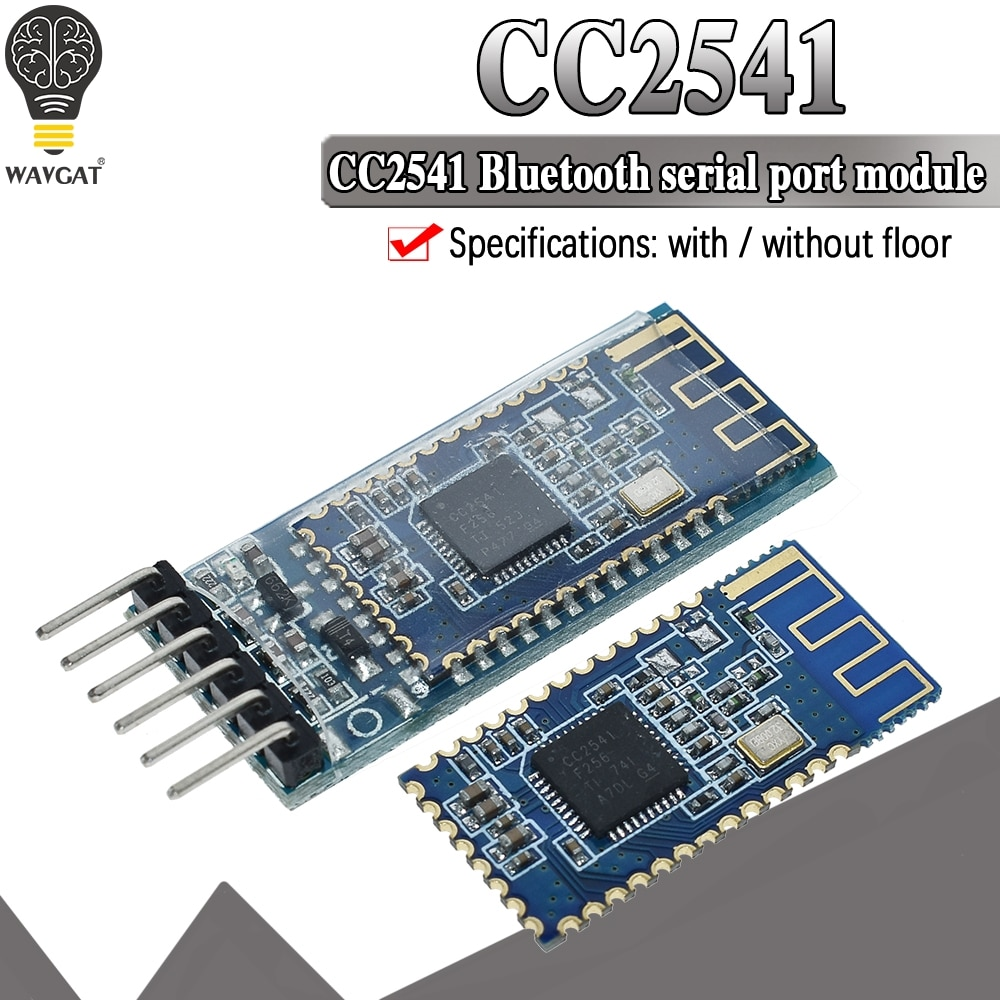 AT-09 Android IOS BLE 4.0 Bluetooth module for arduino CC2540 CC2541 BLE Serial Wireless Module compatible HM-10 HM-11
