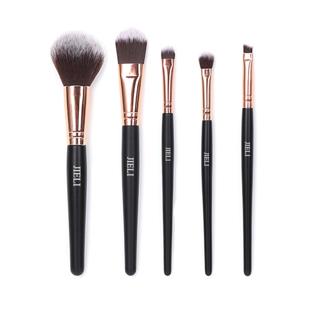 JIELI Makeup Brushes Set 5PCS/lot Cosmetics Tool Professional Make up Brush Powder Brush Foundation