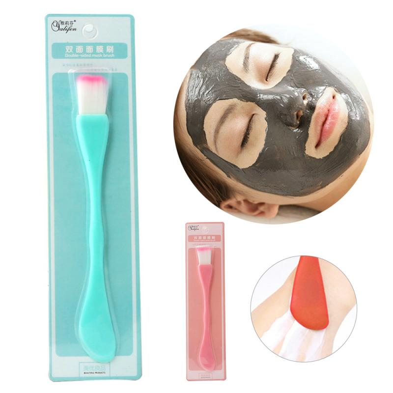 Soft & Ultra-fine Hair Brush Facial Mask Mud Scrub Natural Fit Face Contour Women Skin Care Treatmen