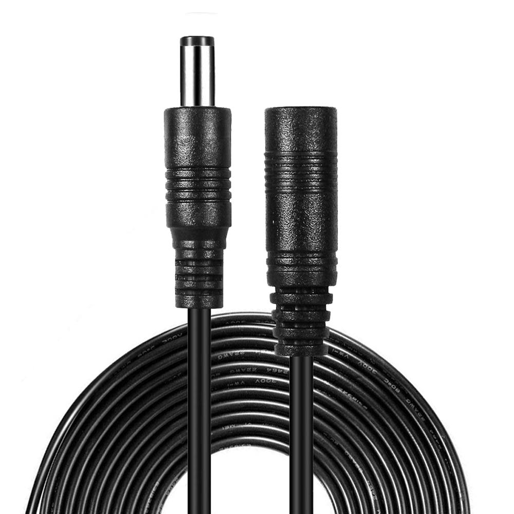 Cable de extensión de alimentación de CC, Cable extensible de 12V de...