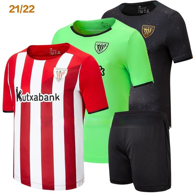 2021 nuevo Bilbao Club Atlético camisa de los hombres Jerseys 2022 Camiseta...