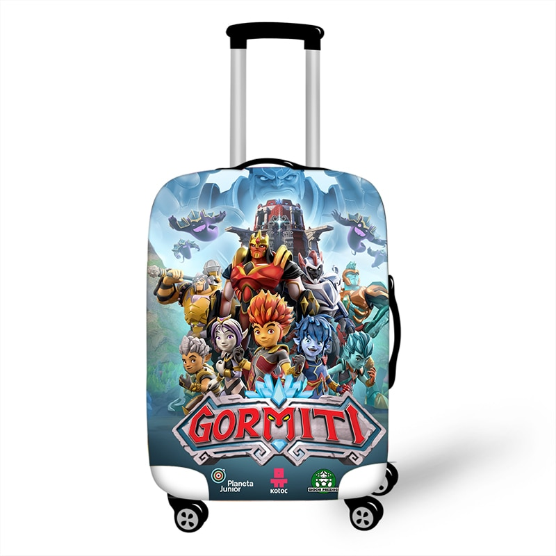 18-32'' Game Gormiti Elastic Luggage Protective Cover Trolley Suitcase Protect Dust Bag Case Travel Accessories