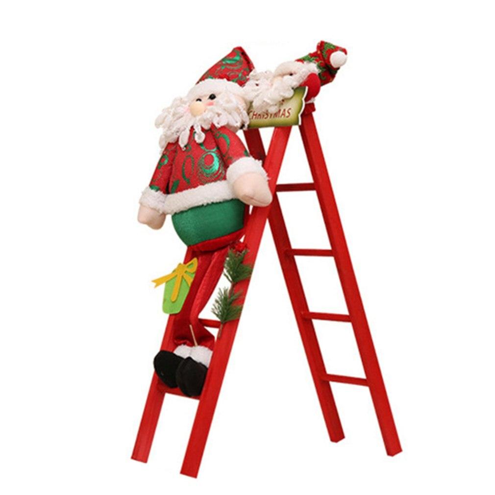 Новый и интересный Электрический Альпинизм Санта Клаус HS с красной лестницей