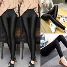 Pantalon taille haute Slim femmes Leggings extensible jegging crayon pantalon nouveau M-3XL