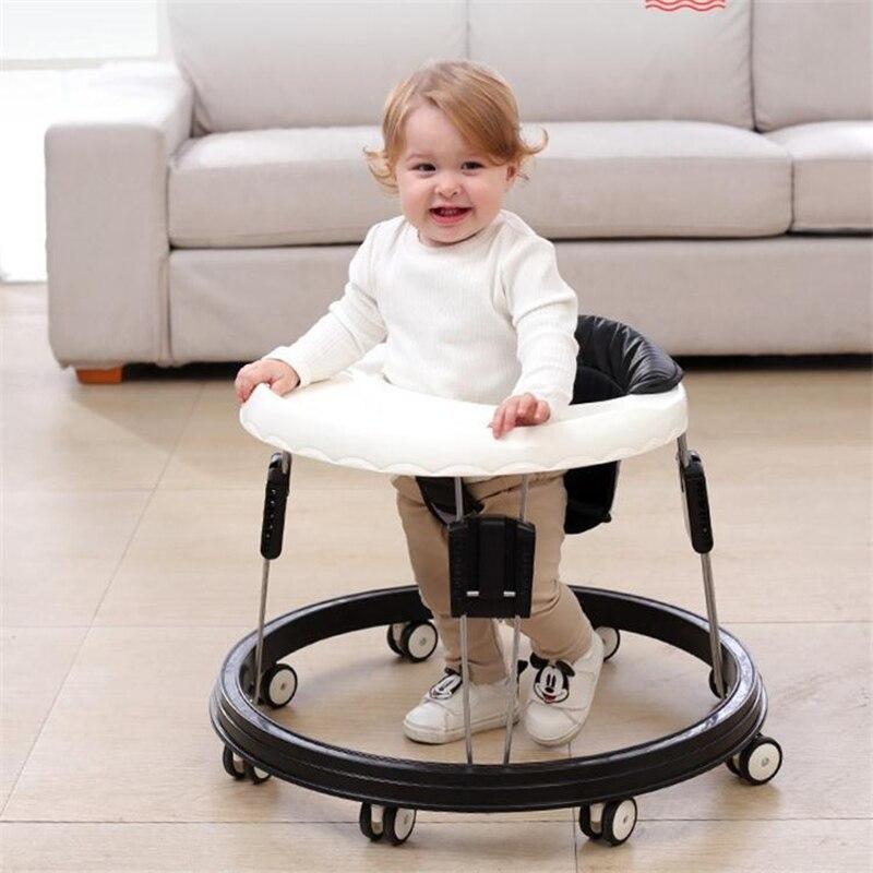 ходунки sevillababy jungle Детские ходунки с колесами, детские ходунки, Обучающие Нескользящие складное колесо ходунки, многофункциональные сиденья